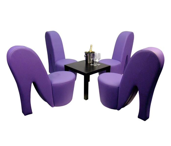High Heel Chair Set huren